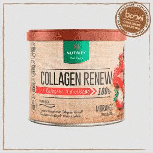 Collagen Renew Colágeno Hidrolisado Morango Nutrify 300g