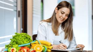 a importância de procurar um profissional para alimentação