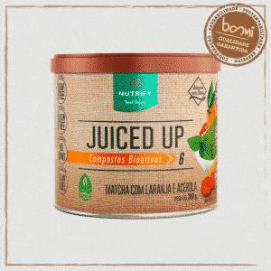 Juiced Up Energético Matcha com Laranja e Acerola Nutrify 200g