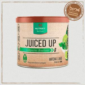 Juiced Up Energético Matcha e Limão Nutrify 200g