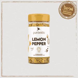 Lemon Pepper Tempero Puravida 130g