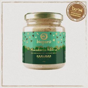 Macadâmia Nibirus Pasta de Macadâmia e Chocolate Vegana Bioporã 210g 1
