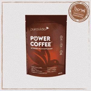 Power Coffee Activated Brain Supplement Puravida 220g