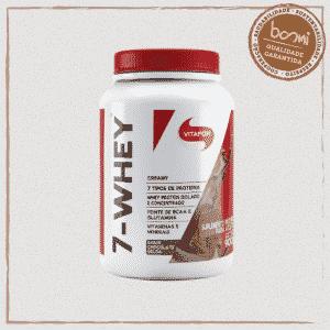 7-Whey Creamy Whey Protein Chocolate Vitafor 900g
