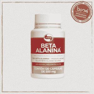 Beta Alanina 500mg Vitafor 120 Cápsulas