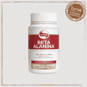 Beta Alanina 500mg Vitafor 240 Cápsulas
