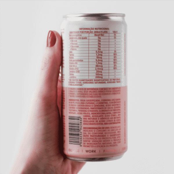 Blissful Energético com CoQ10, L-Carnitina e Cafeína Essential Nutrition 269ml 2
