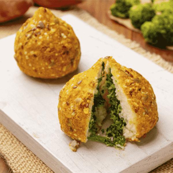 Coxinha de Brócolis com Tofu Vegana Pronto Light 90g 2