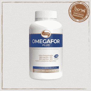 Omegafor Plus Ômega 3 (33% EPA e 22% DHA) 1g Vitafor 240 Cápsulas