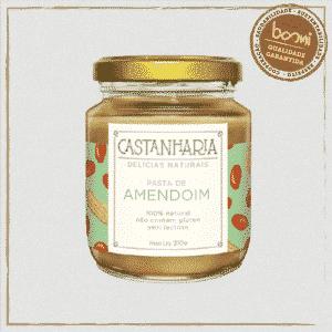 Pasta de Amendoim Zero Açúcar Vegana Castanharia 210g 1