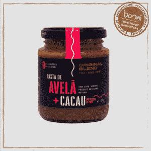 Pasta de Avelã Cacau E Açúcar de Coco Vegano Original Blend 210g