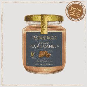 Pasta de Pecã e Canela Zero Açúcar Vegana Castanharia 210g 1
