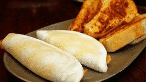 diferença entre o pão e a tapioca