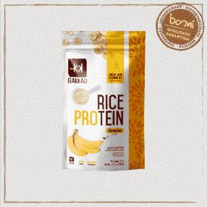 Rice Protein Banana Vegana Rakkau 600g
