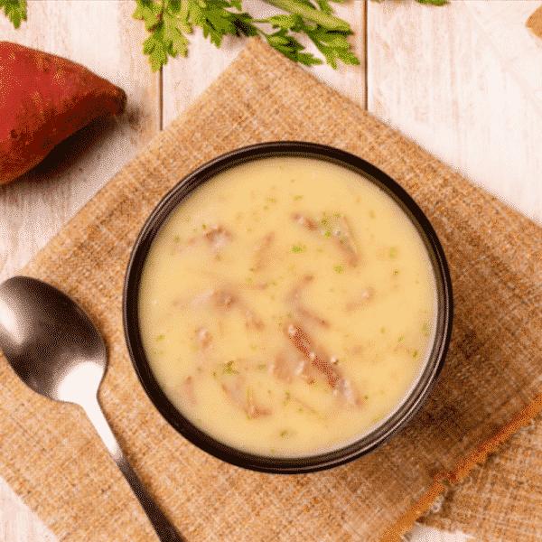Sopa de Mandioca com Carne Desfiada Pronto Light 350g 2