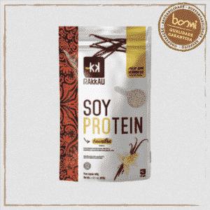 Soy Protein Baunilha Vegana Rakkau 600g
