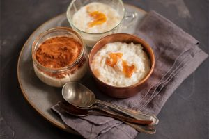 Receita de arroz doce integral sem açúcar