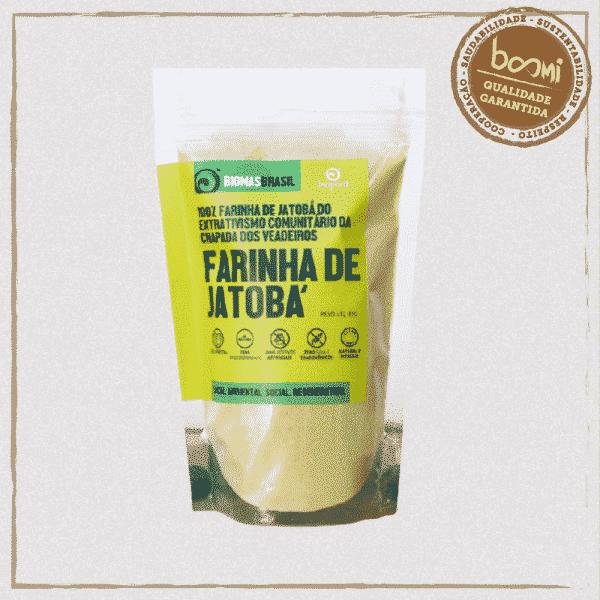 Farinha de Jatobá 100% Natural Bioporã 85g 1