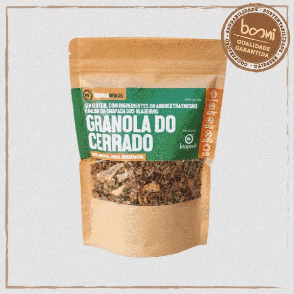 Granola do Cerrado com Castanhas e Sementes Vegana Bioporã 200g 1
