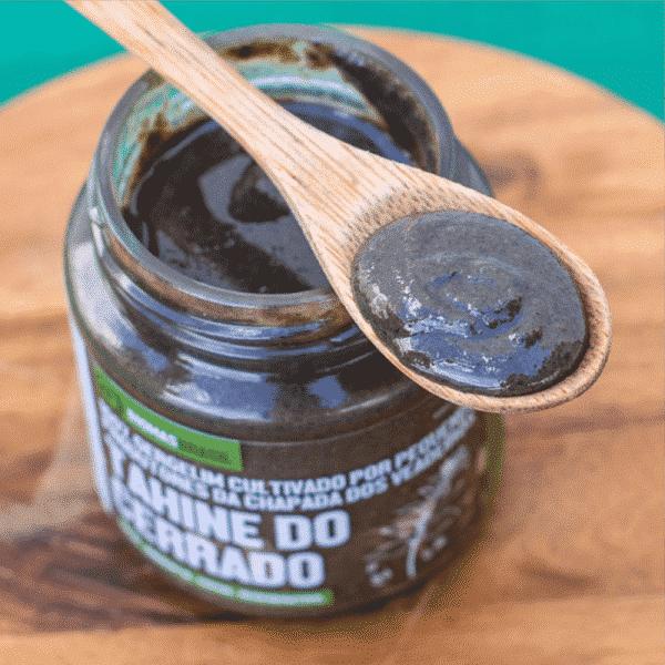 Tahine do Cerrado 100% Gergelim Agrobiológico Vegano Bioporã 210g 2